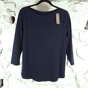 Chicos The Ultimate Tee Bailey Womens Sz 2 Top